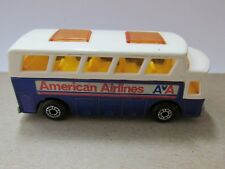 Matchbox Superfast NO.65 Airport Coach Bus American Airlines