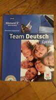 Team Deutsch lycee Premiere 1re avec Cdrom Allemand Klett