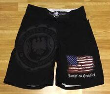 Hurt Locker Black Mma Fight Shorts Size 30