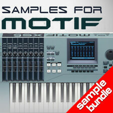 20GB HQ SAMPLES BUNDLE for YAMAHA MOTIF 6 ES XS XF MOXF - KEYMAPS READY TO PLAY