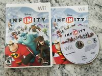 Disney Infinity Wii Game Disc and Case (Wii, 2006) FREE FAST SHIPPING 1.0 Only