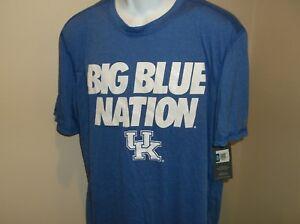 "Kentucky Wildcats ""Big Blue Nation""  Champion Shirt Adult XL NWT Free Ship"