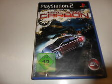 Playstation 2 ps 2 need for speed: Carbon (8)