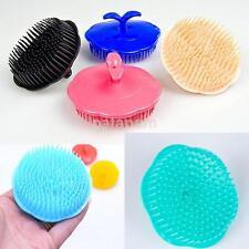 Plastic Shampoo Scalp Shower Washing Hair Head Massage Brush Massager Comb