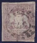 Bavaria 18 O 12 Kr. Purple With Silk Thread, See Scan