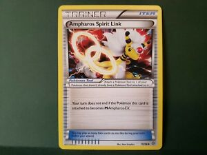 Pokemon Ancient Origins Ampharos Spirirt Link Trainer Single Card Uncommon
