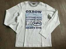 TEE SHIRT OXBOW T 14 ANS MANCHES LONGUES