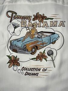 TOMMY BAHAMA 2XL Original Edition COLLECTIONS OF DREAMS SILK SHIRT