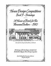 House Design Competitions - Book 9 Drawings, A House of Brick for $10,000 - 1910