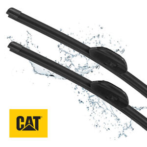 CAT Clarity Premium Replacement Windshield Wiper Blades 18 + 22 Inch (2 Pcs)