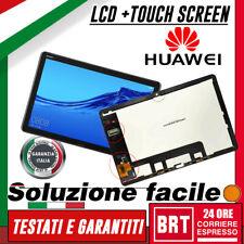 DISPLAY LCD+TOUCH SCREEN ORIGINALE per HUAWEI MEDIAPAD M5 LITE BAH2-L09 W09 AL00