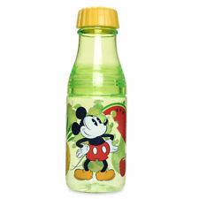 Disney Store Mickey & Minnie Mouse Drinking Bottle Summer Fun Drink Cup New