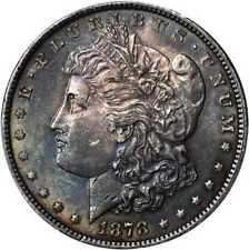 1878 Morgan Silver Dollar. 7/8 Tailfeathers. VAM-41A. Weak, 7/4 Tai... Lot 91380