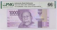 2016//2018 INDONESIA 10,000 10000 RUPIAH P-157 UNC LOT 10 PCS/> /> />FRANS KAISIEPO