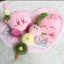 Sakura Dango Kirby Plush Set of 3 Japan NWT Kawaii Anime Cute Dessert Toy Doll