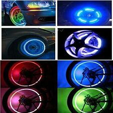 4pcs Led Flash Tyre Wheel Tire Valve Cap Light for Car Bike Motorbicycle Lights