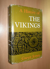 A History of the Vikings by Gwyn Jones / Denmark, Sweden / Scandinavian Studies