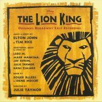 The Lion King: Original Broadway Cast Recording CD IN SHELL CASE, NO ART DISNEY