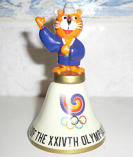 1988 OLYMPIC GAMES SEOUL Original Mascot HOSUNI (HUSBAND) CERAMIC BELL No3