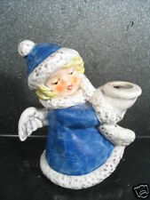 Goebel ANGEL W/ BLUE ROBE CANDLE HOLDER Tmk 6