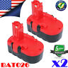 2X For BOSCH BAT181 GSB BAT180 BAT189 BAT025 BAT026 35618 18V Cordless Battery