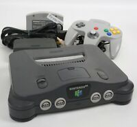 "Nintendo 64 Console NUS-001 NUJ13823227 Tested System JAPAN ""NTSC J"""