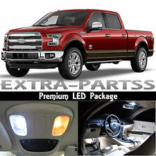 13x White Interior LED Lights Package Kit Dome Map for 2009-2014 Ford F-150 F150