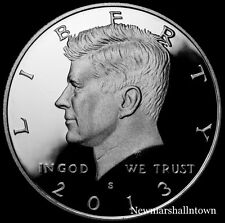2013 S Kennedy Half Dollar ~ Silver Mint Proof ~ Deep Cameo ~ From US Proof Set