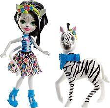 Enchantimals Fky75 Zelena Zebra Doll Large