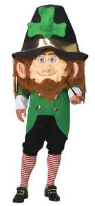 Parade Leprechaun Mascot Adult Costume Funny Comical St. Patrick's Day Irish