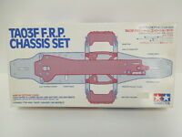 Tamiya Vintage Hop-Up Options TA03F F.R.P. Chassis Set OP.306 Brand New 100%