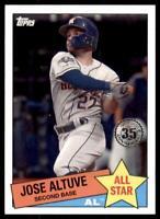 2020 Topps Series 2 1985 All Stars #85AS-25 Jose Altuve - Houston Astros