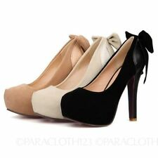 High (3 in. and Up) Stiletto Party Solid Heels for Women