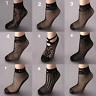 New Black Sock Women Soft Lace Short Ankle Socks Summer Fishnet Stocking Stylish