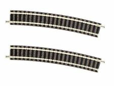 9131 Fleischmann Piccolo - Curved 15 Degree Radius R3 Track N Gauge (1 Pair)