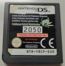 Console Game Play NINTENDO DS NTR-Y8CP-EUR   Pokemon Celebi Distribution N° 2050