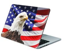 Universal Laptop Skin Notebook Netbook MacBook Aufkleber Sticker USA Eagle