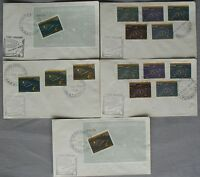 s476) Raumfahrt Space Paraguay 5 FDC 17.12.1962  Universum - Sonnensystem