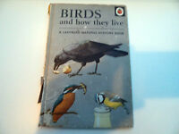 Vintage Ladybird Book - Birds and how they live - Series 651