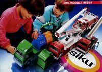Siku Modellautokatalog 1993 1994 kleiner Prospekt Katalog Modellautos model cars