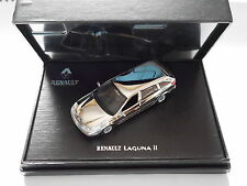 "RENAULT LAGUNA Mk II Break chromed or ""SILVER PLATED"", euh dans 1:43 Dealers en boîte!"