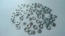 100 PUSH-ON FLAT EMBLEM RETAINERS! CHEVY/GMC PICKUP TRUCK JIMMY BLAZER S10 ETC