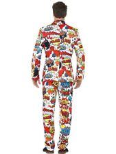 Comic Strip Suit Mens Costume Size XL