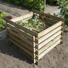 Nature Holz FSC Komposter Kompostbehälter Holzkomposter Steckkomposter 650 L
