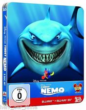 FINDET NEMO (Blu-ray 3D + Blu-ray Disc) Steelbook NEU+OVP