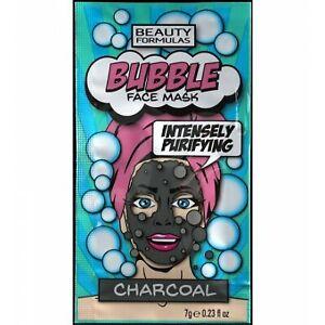 Beauty Formulas Bubble Mask -  Charcoal - 7 G