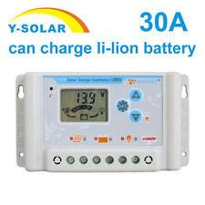 30A 36V48V/60V PWM Solar Controller Charger Regulator Max input 100V With USB