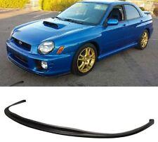 2001-2002 Bugeye Subaru WRX STI Front Lip Polyurethane