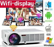 Projecteur LED Android Internet WIFI 5500 LUMENS HD HDMI 1280x800P Home Cinema