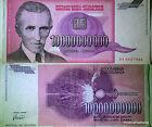 Yougoslavie, 10 MILLIARDS de Dinara type Nicola Tesla, Pick 127 Circulé
